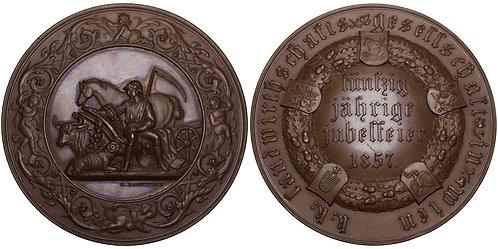 100391  |  AUSTRIA. Wien (Vienna) Agricultural bronze Award Medal