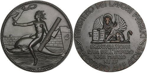 100613     ITALY. Venice (Venezia) bronze Medal.