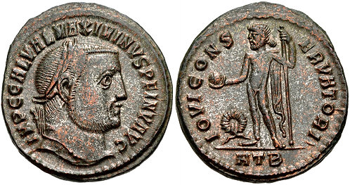 100019 | ROMAN EMPIRE. Maximinus II Follis.