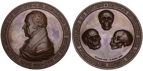 100696  |  GERMANY. Johann Friedrich Blumenbach bronze Medal.