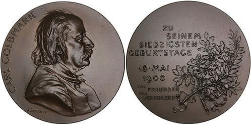 100273  |  AUSTRIA. Karl Goldmark bronze Medal.