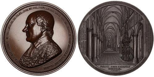 101047  |  BELGIUM. Liège. Bishop C. R. A. van Bommel bronze Medal.