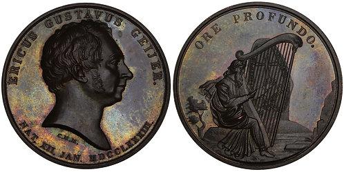 100495  |  SWEDEN. Erik Gustaf Geijer bronze Medal.