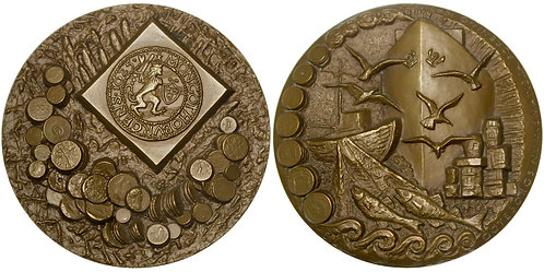 101571  |  SWEDEN. Göteborg Numismatic Association bronze Medal.