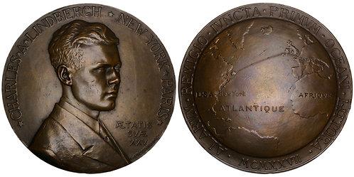 101122  |  UNITED STATES. Charles Lindbergh bronze Medal.