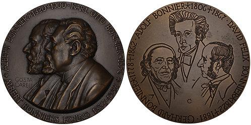 100370  |  SWEDEN. Bonnier Publishing bronze Medal.