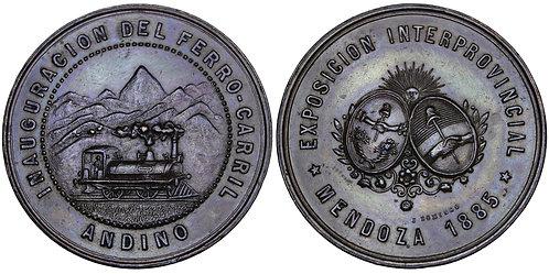 101712  |  ARGENTINA. Railroad bronze Medal.