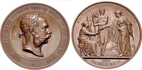 100021 | AUSTRIA/HUNGARY. Franz Joseph I bronze Medal.