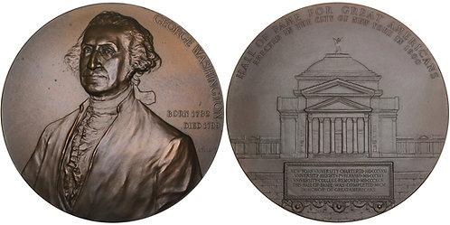 100353  |  UNITED STATES. George Washington bronze Medal.