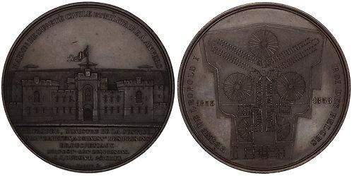 100757  |  BELGIUM. Prison civile et militaire d'Anvers bronze Medal.