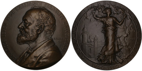 100686  |  FRANCE. Narcisse Leven bronze Medal.