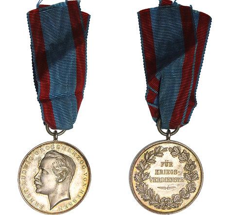 100512  |  GERMANY. Hessen-Darmstadt. Ernst Ludwig silver Medal.