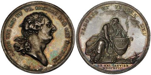 100232     FRANCE. Louis XVI silver Medal.