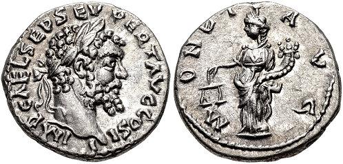 100011 | ROMAN EMPIRE. Septimius Severus Denarius.