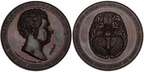101109  |  GERMANY. Samuel Thomas Sömmering bronze Medal.