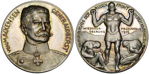 101392  |  GERMANY. Generaloberst Anton Ludwig August von Mackensen silver Medal