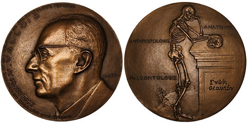 100223  |  FRANCE. Henri-Victor Vallois bronze Medal.