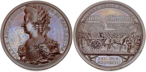 100042 I FRANCE. Marie Antoinette Medal.