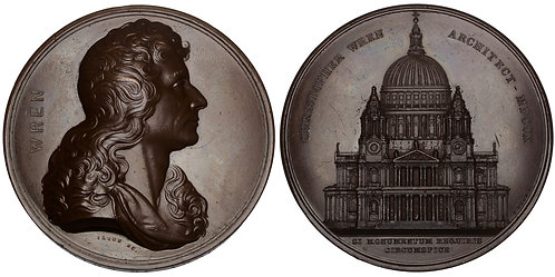 101119  |  GREAT BRITAIN. London. St. Paul's Cathedral bronze Medal.