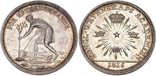 100038 | SWEDEN. Silver Prize Medal.