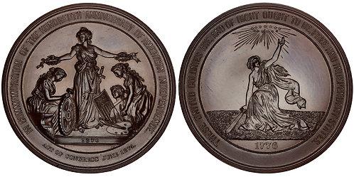 101509  |  UNITED STATES. Philadelphia. Centennial Exposition bronze Medal.