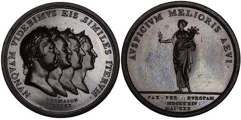100251 | GREAT BRITAIN, PRUSSIA, AUSTRIA & RUSSIA. Bronze Medal.