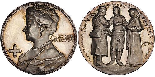 100562  |  GERMANY. Auguste Viktoria silver Medal.