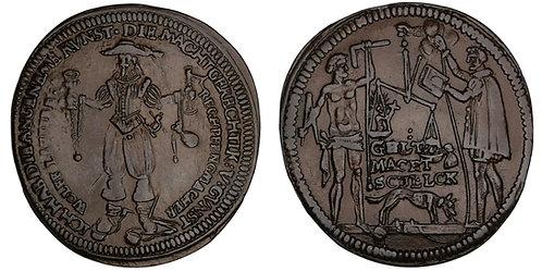 100943  |  GERMANY. Nürnberg. Copper Jeton or Rechenpfennig.
