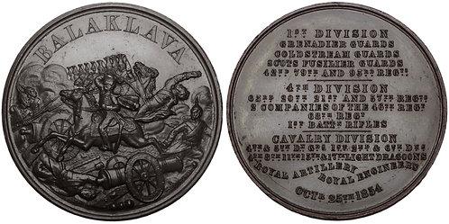 100748     GREAT BRITAIN & RUSSIA. Crimean War bronze Medal.