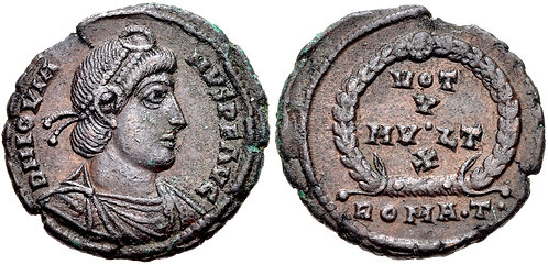 100008   ROMAN EMPIRE. Jovian Nummus.