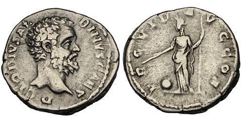 100227  |  ROMAN EMPIRE. Clodius Albinus silver Denarius.