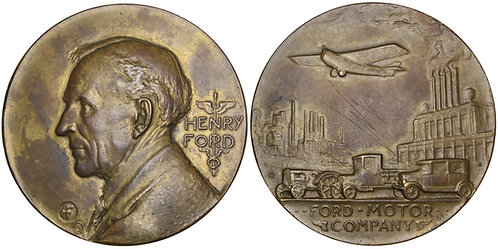 101710  |  UNITED STATES. Henry Ford/Ford Motor Company bronze Medal.