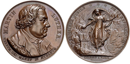 100001 | GERMANY/FRANCE. Martin Luther Medal.