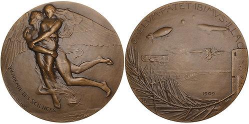 100603  |  FRANCE. Académie des Sciences bronze Medal.