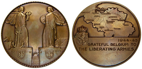 100131     BELGIUM. Bronze Medal.