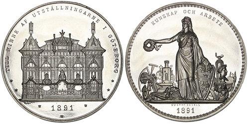 100750     SWEDEN. Göteborg aluminum Medal.