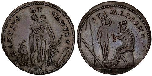 100942  |  GERMANY. Nürnberg. Copper Jeton or Rechenpfennig.