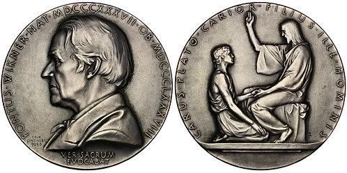 101452     SWEDEN. Pontus Wikner silver Medal.
