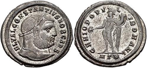 100005 | ROMAN IMPERIAL. Constantius I Follis.