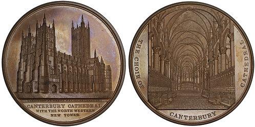 100390  |  GREAT BRITAIN. Canterbury bronze Medal.