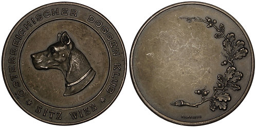 101142  |  AUSTRIA. Wien. Silvered bronze award Medal.