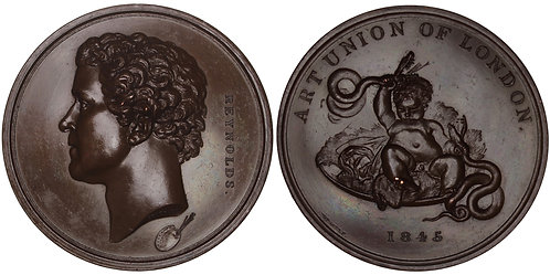 100861  |  GREAT BRITAIN. Sir Joshua Reynolds bronze Medal.