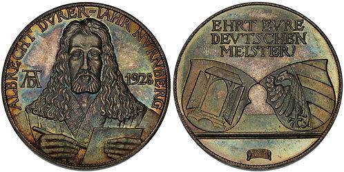 100490  |  GERMANY. Albrecht Dürer silver Medal.