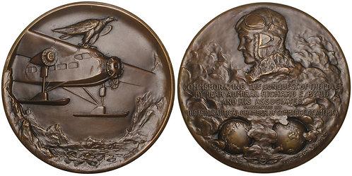 100669     UNITED STATES. Richard E. Byrd bronze Medal.