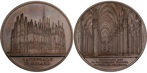 100568  |   ITALY. Duomo di Milano (Milan) bronze Medal.