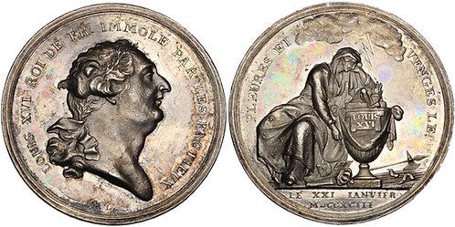 100301     FRANCE. Louis XVI silver Medal.