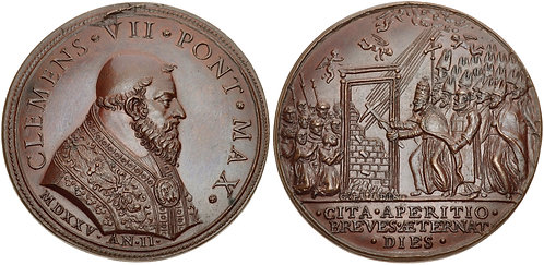 100037 | ITALY, Vatican. Pope Clemens VII bronze Medal.