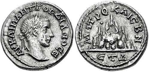 100026 | ROMAN EMPIRE. Gordian III Drachm.