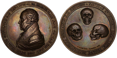 100214 | GERMANY. Johann Friedrich Blumenbach bronze Medal.