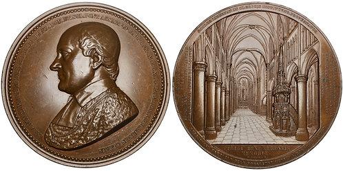 101096     BELGIUM. Luik (Liège). Bishop C. R. A. van Bommel bronze Medal.